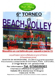 Beach volley 2018