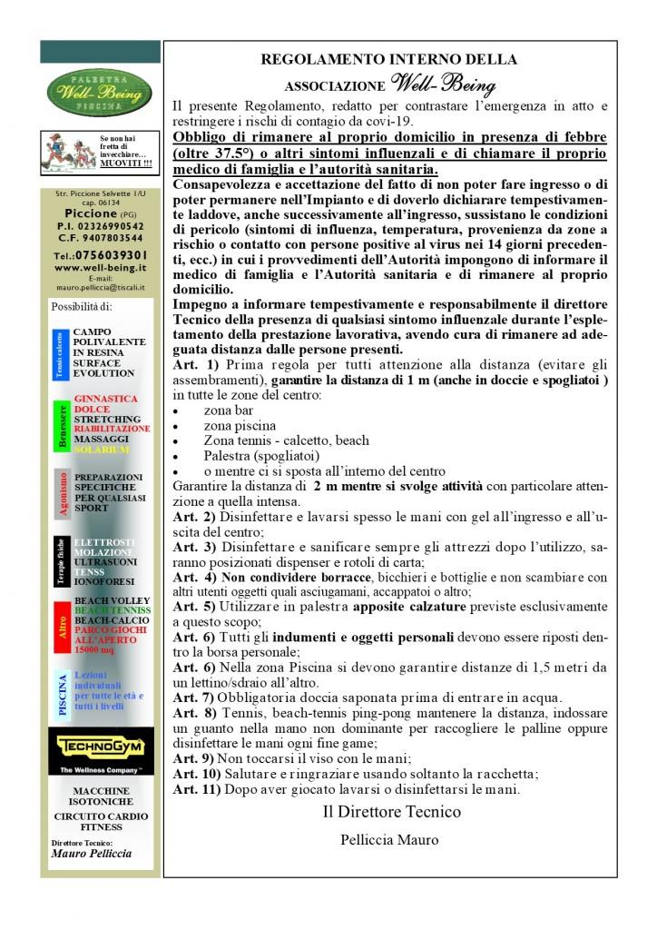 Regolamento COVID-19 1